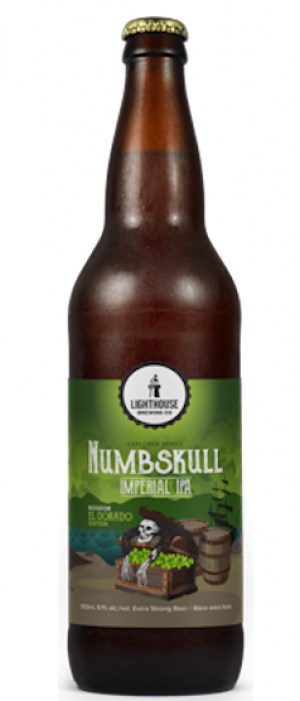 Numbskull El Dorado by Lighthouse Brewing Company in British Columbia, Canada