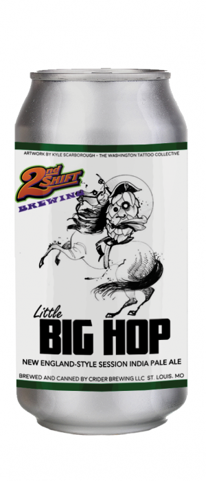 Little Big Hop by 2nd Shift Brewing in Missouri, United States