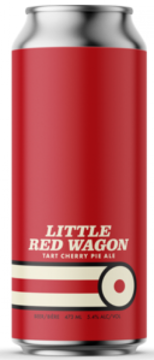 Little Red Wagon Tart Cherry Pie Ale by Cabin Brewing Company in Alberta, Canada