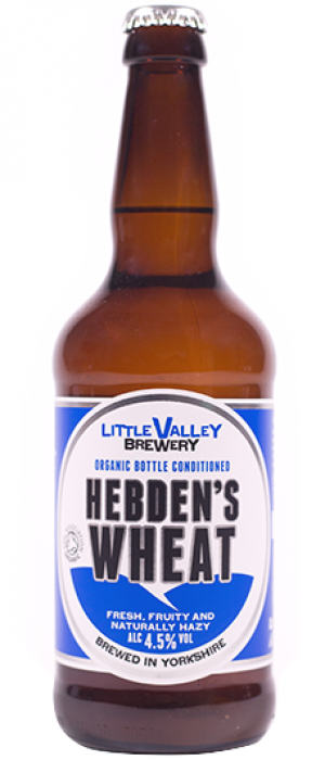 Hebden's Wheat by Little Valley Brewery in West Yorkshire - England, United Kingdom
