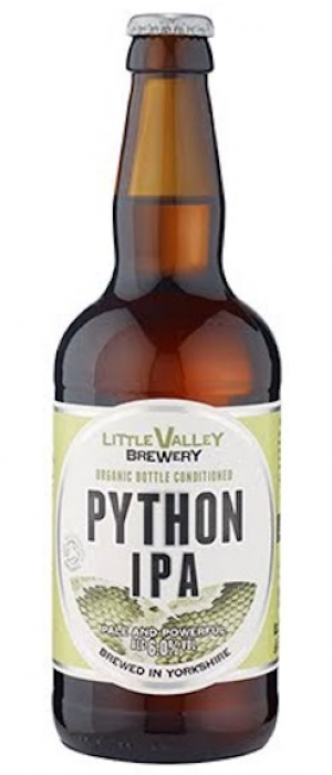 Python IPA by Little Valley Brewery in West Yorkshire - England, United Kingdom