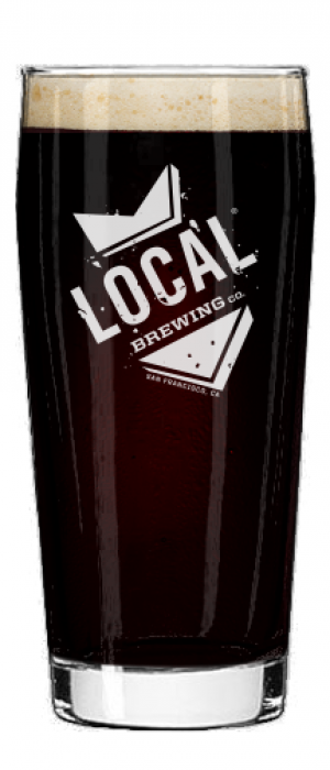 Bluxome Black Lager by Local Brewing Co.  in California, United States