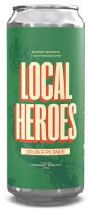 Local Heroes by Bomber Brewing in British Columbia, Canada