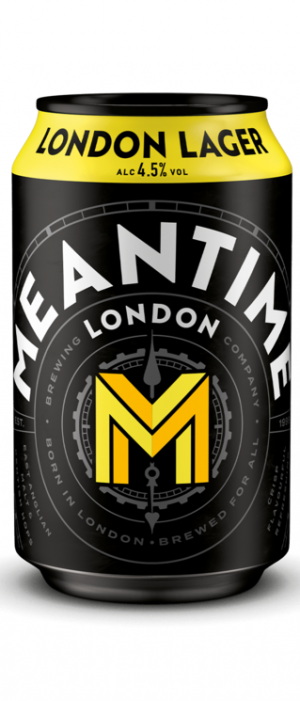 London Lager by Meantime Brewing Company in London - England, United Kingdom