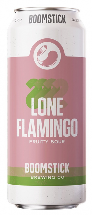 Lone Flamingo by Boomstick Brewing Co. in Newfoundland and Labrador, Canada