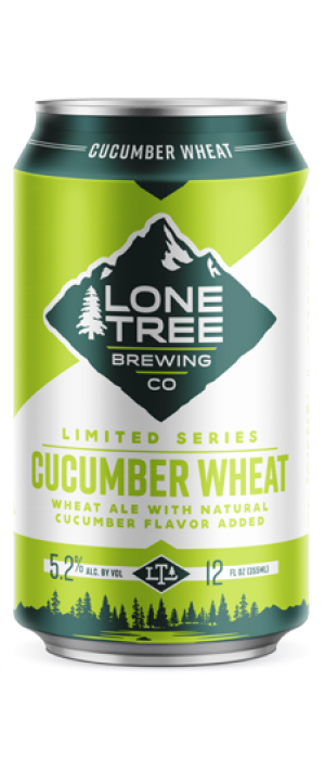 Cucumber Wheat by Lone Tree Brewing Company in Colorado, United States