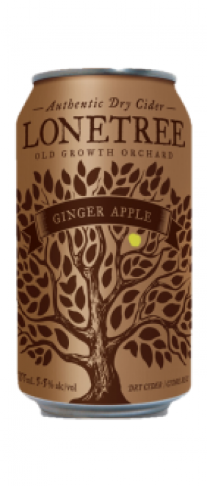 Ginger Apple Cider by Lonetree Cider Co. in British Columbia, Canada