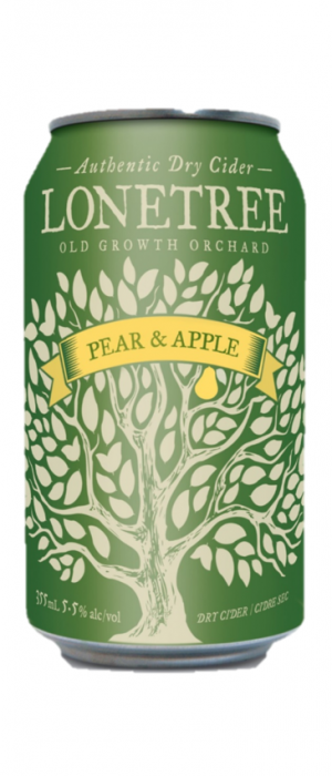 Pear & Apple Cider by Lonetree Cider Co. in British Columbia, Canada