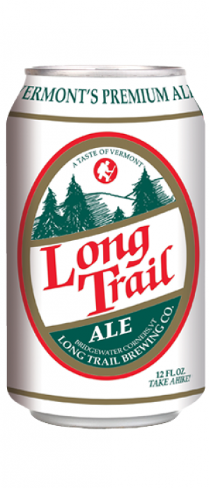 Long Trail Ale by Long Trail Brewing in Vermont, United States