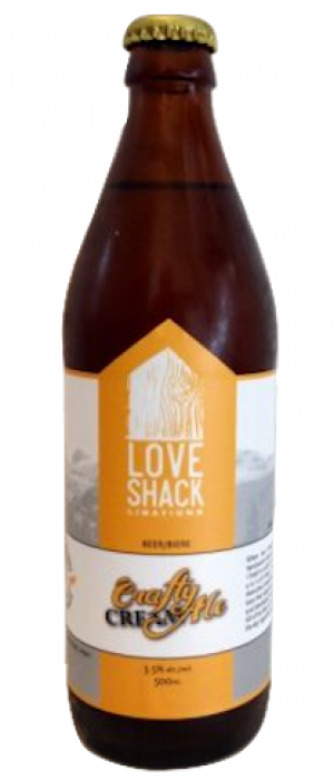 Craft Cream Ale by LoveShack Libations in British Columbia, Canada