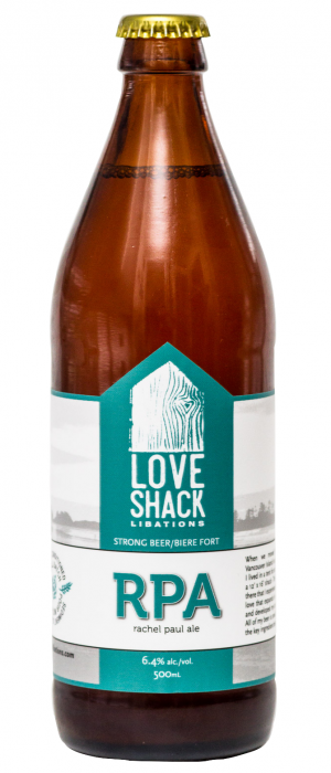 R.P.A. by LoveShack Libations in British Columbia, Canada