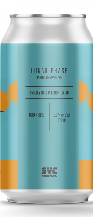 Lunar Phase by S.Y.C. Brewing Co. in Alberta, Canada