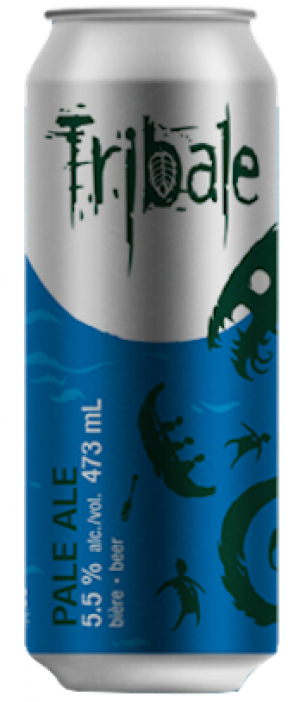 Tribale Pale Ale by MaBrasserie in Québec, Canada