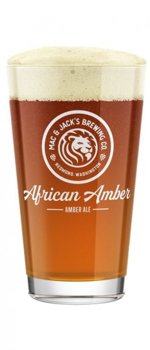 African Amber Ale by Mac & Jack's Brewery in Washington, United States