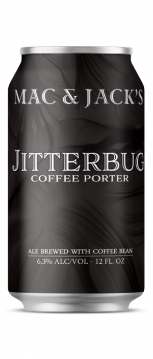 Jitterbug Coffee Porter by Mac & Jack's Brewery in Washington, United States