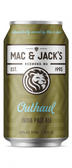 Outhaul IPA by Mac & Jack's Brewery in Washington, United States
