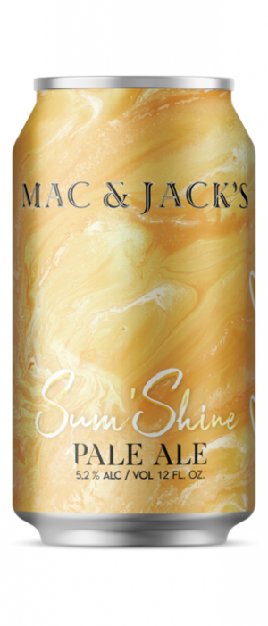 Sum' Shine Pale Ale by Mac & Jack's Brewery in Washington, United States