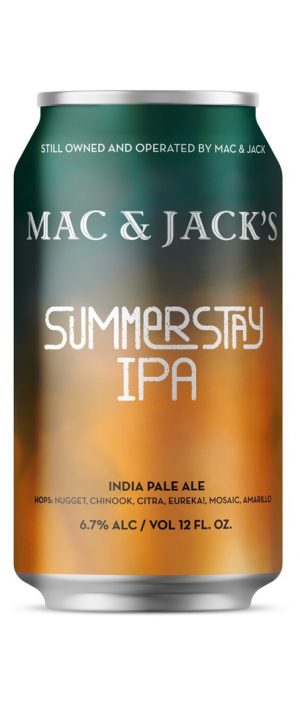 Summerstay IPA by Mac & Jack's Brewery in Washington, United States