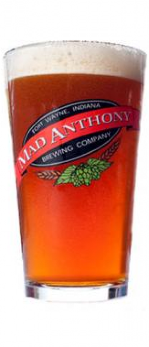 Auburn Lager by Mad Anthony Brewing Company in Indiana, United States