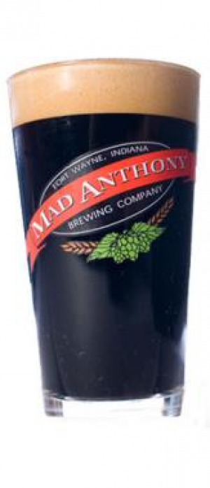 Harry Baals Irish Stout by Mad Anthony Brewing Company in Indiana, United States