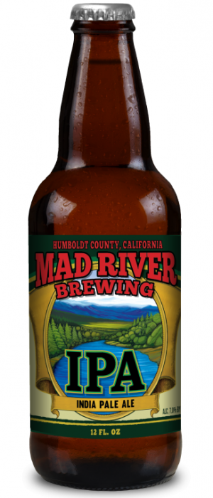 Mad River IPA by Mad River Brewing in California, United States