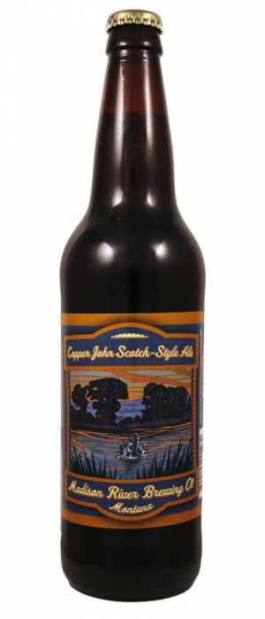 Copper John Scotch Ale by Madison River Brewing Company in Montana, United States