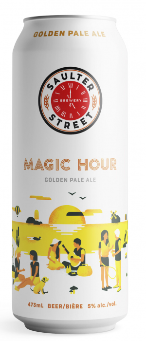 Magic Hour Golden Pale Ale by Saulter Street Brewery in Ontario, Canada