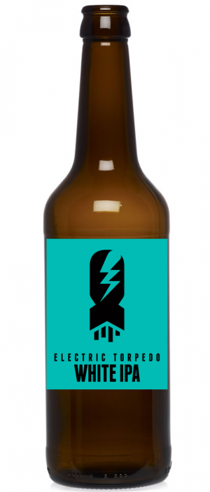 Electric Torpedo White IPA by Main Street Brewing Company in British Columbia, Canada