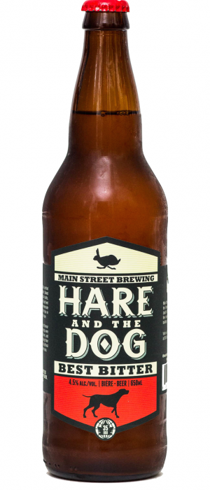 Hare and The Dog by Main Street Brewing Company in British Columbia, Canada