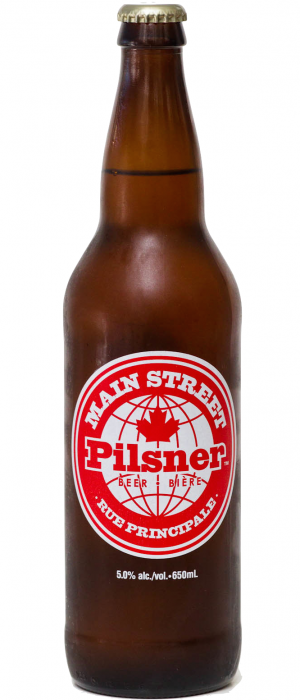 Main Street Pilsner by Main Street Brewing Company in British Columbia, Canada