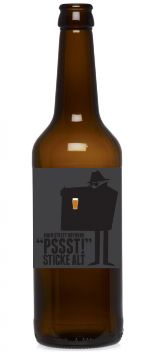 Pssst! Sticke Alt by Main Street Brewing Company in British Columbia, Canada