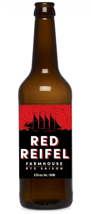 Red Reifel Rye Saison by Main Street Brewing Company in British Columbia, Canada