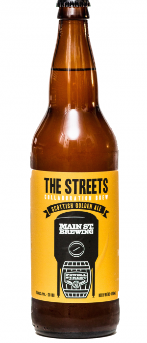 The Streets by Main Street Brewing Company in British Columbia, Canada