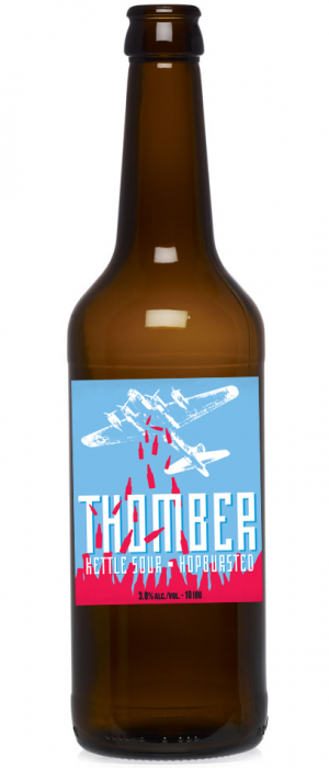 Thomber Kettle Sour by Main Street Brewing Company in British Columbia, Canada