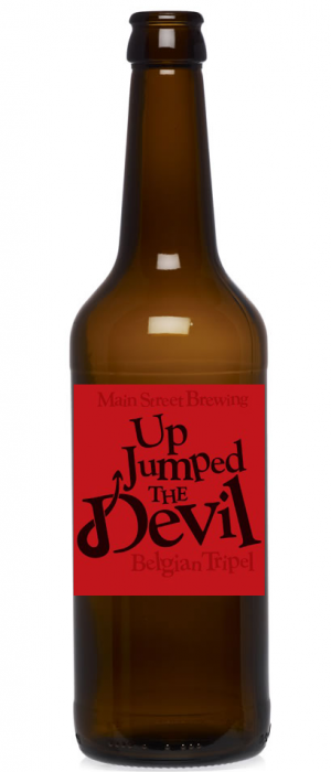 Up Jumped the Devil Tripel by Main Street Brewing Company in British Columbia, Canada
