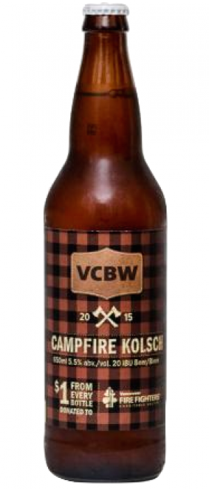 VCBW Campfire Kölsch by Main Street Brewing Company in British Columbia, Canada