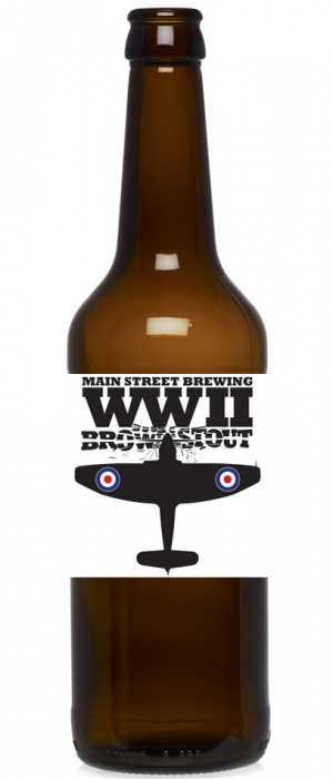 WWII Brown Stout by Main Street Brewing Company in British Columbia, Canada