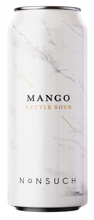 Mango Kettle Sour by Nonsuch Brewing Co. in Manitoba, Canada