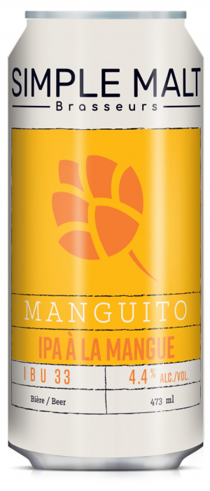 Manguito by Simple Malt Brasseurs in Québec, Canada