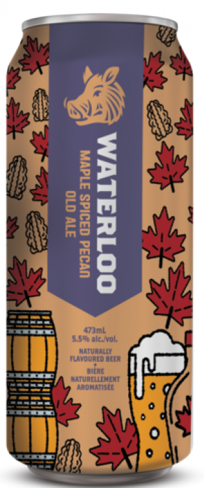Maple Spiced Pecan Old Ale by Waterloo Brewing in Ontario, Canada