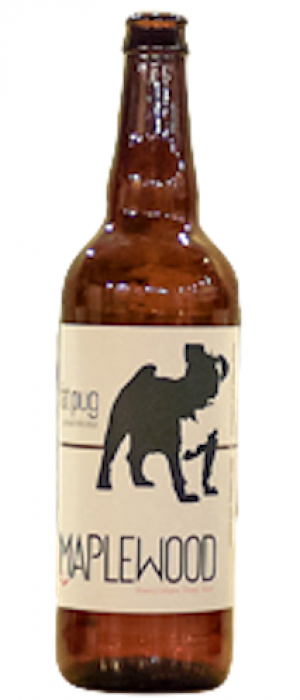 Fat Pug Oatmeal Milk Stout by Maplewood Brewery & Distillery in Illinois, United States