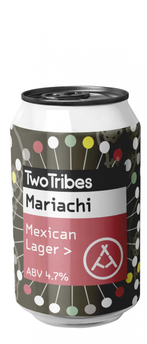 Mariachi Mexican Lager by Two Tribes in London - England, United Kingdom