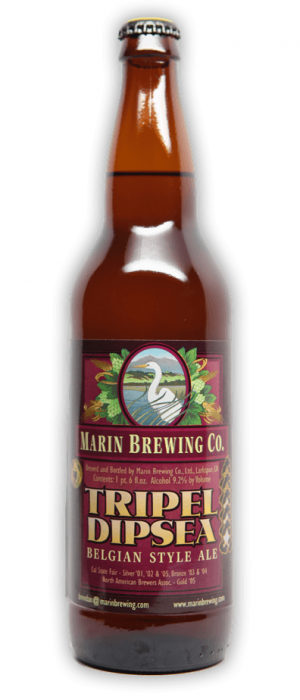 Dipsea Tripel by Marin Brewing Company in California, United States