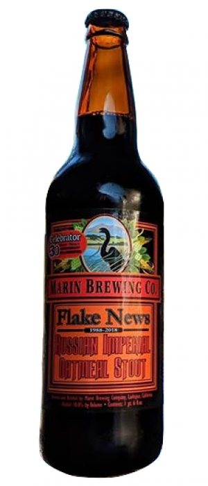 Flake News by Marin Brewing Company in California, United States