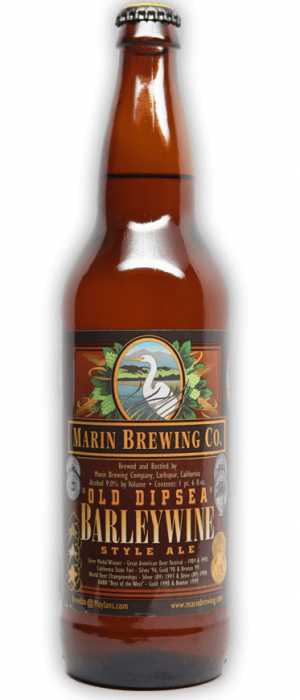 Old Dipsea Barleywine by Marin Brewing Company in California, United States