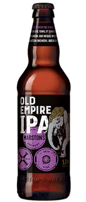 Marston's Old Empire IPA by Marston's Brewery in Staffordshire - England, United Kingdom