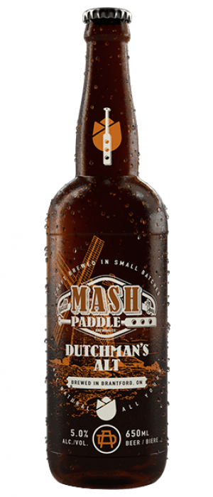 Dutchman's Alt by Mash Paddle Brewing Co.  in Ontario, Canada