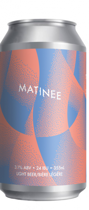 Matinee Tiny Hoppy Pale Ale by 2 Crows Brewing Co. in Nova Scotia, Canada