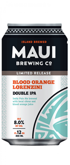 Blood Orange Lorenzini by Maui Brewing Co. in Hawaii, United States