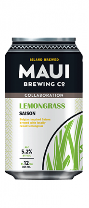 Lemongrass Saison by Maui Brewing Co. in Hawaii, United States